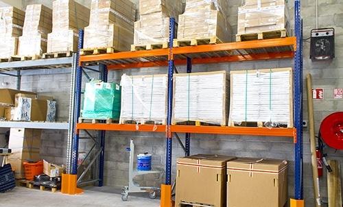 Stockage en entrepôt