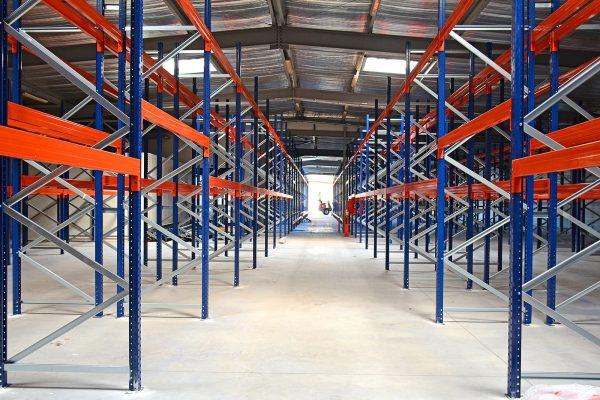 Stockage de palettes (entrepôt)